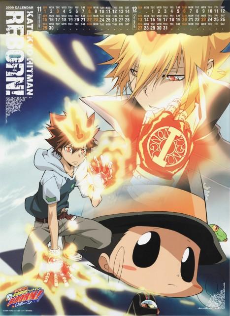 Akira Amano, Artland, Katekyo Hitman Reborn!, Giotto, Reborn (Character)