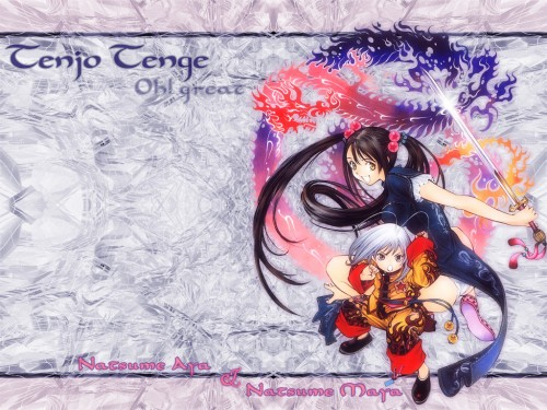 Oh! Great, Tenjou Tenge, Aya Natsume, Maya Natsume Wallpaper