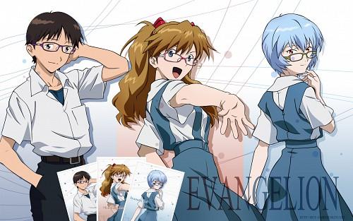 Yoshiyuki Sadamoto, Gainax, Neon Genesis Evangelion, Rei Ayanami, Asuka Langley Soryu Wallpaper