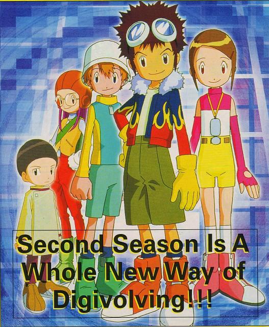 Toei Animation, Digimon Adventure, Iori Hida, Hikari Yagami, Takeru Takaishi