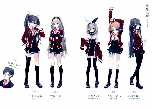 Ponkan Eight, Seitokai Tantei Kirika, Kirika Hijiribashi