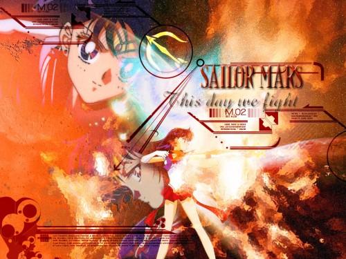 Toei Animation, Bishoujo Senshi Sailor Moon, Sailor Mars Wallpaper