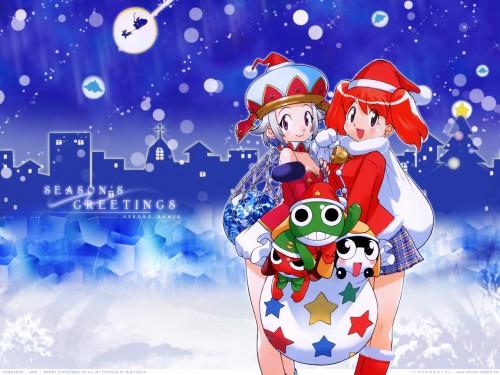 Mine Yoshizaki, Keroro Gunsou, Giroro, Natsumi Hinata, Angol Mois Wallpaper