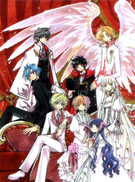 CLAMP, Chobits, Man of Many Faces, Cardcaptor Sakura, Wish