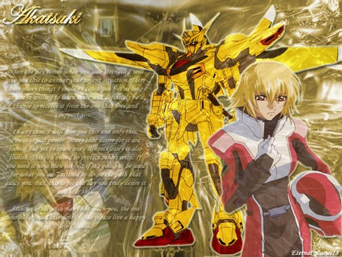 Sunrise (Studio), Mobile Suit Gundam SEED Destiny, Cagalli Yula Athha Wallpaper