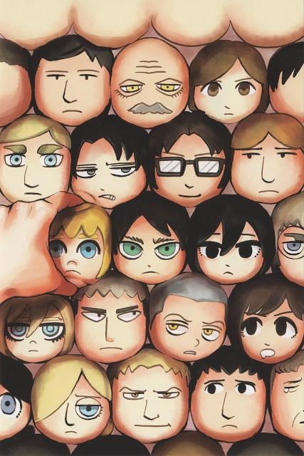 Hajime Isayama, Shingeki no Kyojin, Hange Zoe, Connie Springer, Auruo Bossard