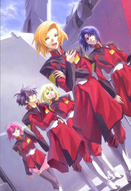 RGB, Mobile Suit Gundam SEED Destiny, Heine Westenfluss, Rey Za Burrel, Lunamaria Hawke