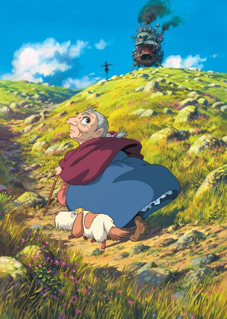 Kazuo Oga, Studio Ghibli, Howl's Moving Castle, Turnip, Old Sophie