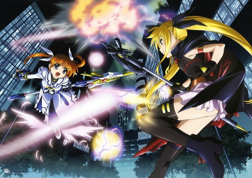 Seven Arcs, Mahou Shoujo Lyrical Nanoha, MSLN The Movie 1st Visual Collection 1, Fate Testarossa, Nanoha Takamachi