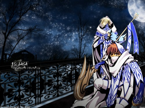 CLAMP, Bee Train, Tsubasa Reservoir Chronicle, Syaoran Li, Fay D. Flourite Wallpaper