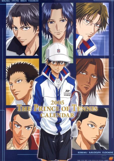 Takeshi Konomi, J.C. Staff, Prince of Tennis, Kippei Tachibana, Yoshirou Akazawa