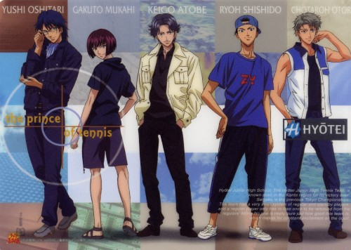Takeshi Konomi, J.C. Staff, Prince of Tennis, Gakuto Mukahi, Choutarou Ootori