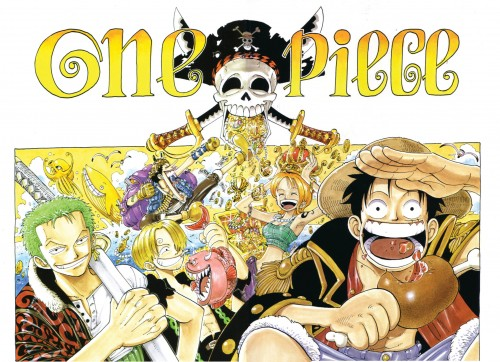 Eiichiro Oda, Toei Animation, One Piece, Color Walk 2, Monkey D. Luffy
