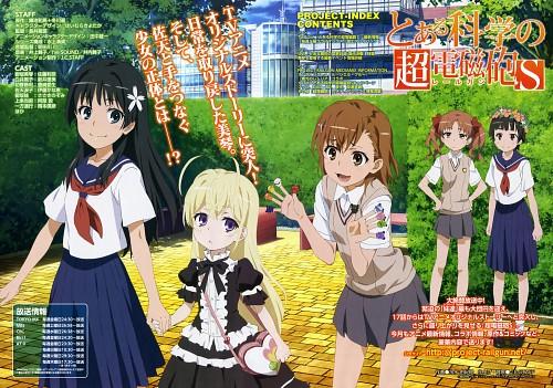Yukie Hiyamizu, J.C. Staff, To Aru Kagaku no Railgun, To Aru Majutsu no Index, Kuroko Shirai