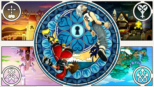 Square Enix, Kingdom Hearts, Riku, Sora Wallpaper