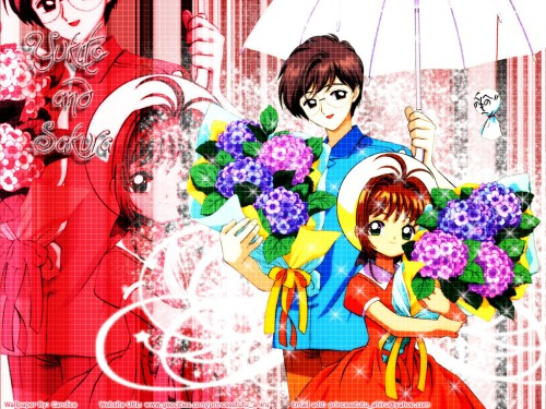CLAMP, Madhouse, Cardcaptor Sakura, Sakura Kinomoto, Yukito Tsukishiro Wallpaper