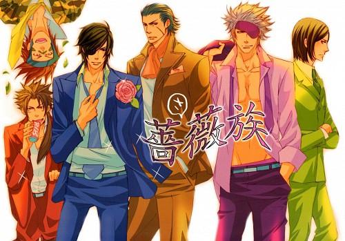 Shushushu Sakurai, Sengoku Basara, Kojuro Katakura, Yukimura Sanada, Sasuke Sarutobi