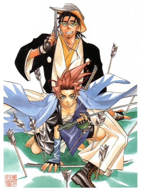Nanae Chrono, Peacemaker Kurogane, Tetsunosuke Ichimura, Ryoma Sakamoto, Occupations