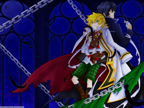 Pandora Hearts, Oz Vessalius, Gilbert Nightray Wallpaper