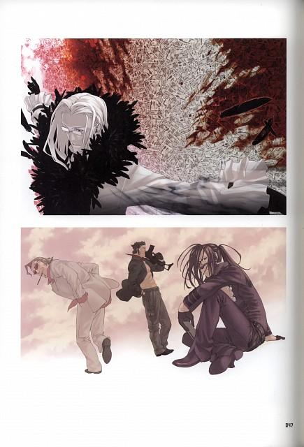Tomozo, Yuusuke Kozaki, Gonzo, Speed Grapher, KYMG - Yusuke Kozaki Illustrations