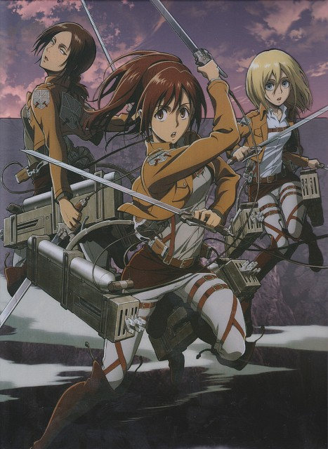 Hajime Isayama, Production I.G, Shingeki no Kyojin, Sasha Blouse, Ymir (Shingeki no Kyojin)