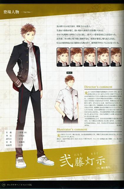 Melo, Idea Factory, Suuran Digit Official Fanbook, Suuran Digit, Character Sheet