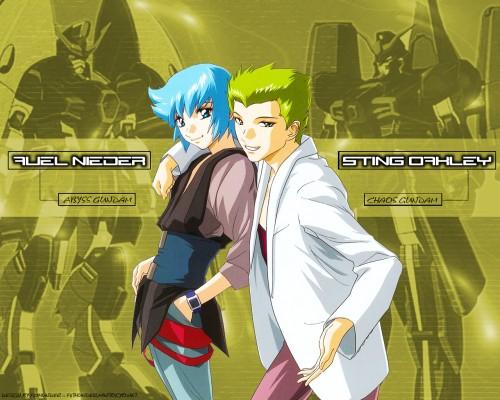 Sunrise (Studio), Mobile Suit Gundam SEED Destiny, Auel Neider, Sting Oakley Wallpaper