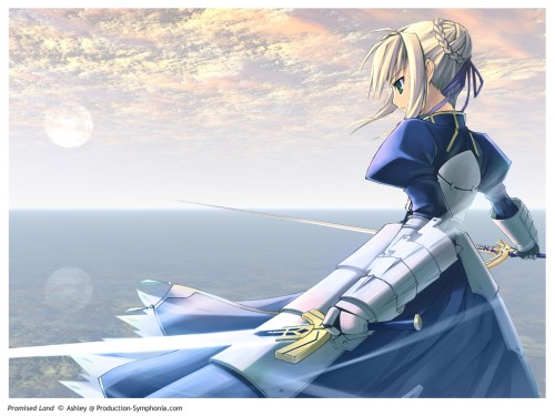 TYPE-MOON, Fate/stay night, Saber, Occupations Wallpaper