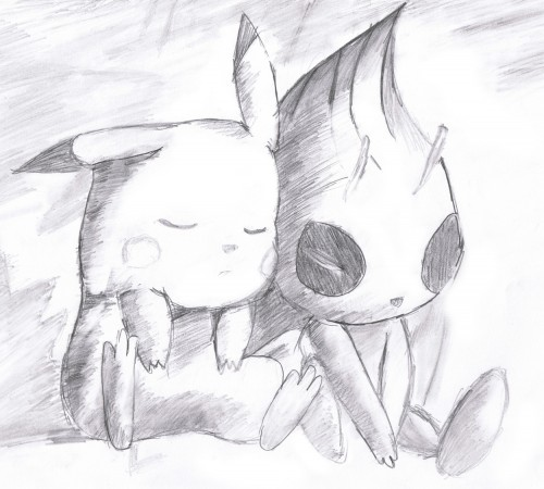 Pokémon, Celebi, Pikachu, Member Art