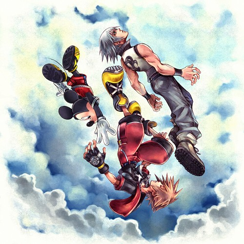 Square Enix, Kingdom Hearts, Sora, Riku, Mickey Mouse