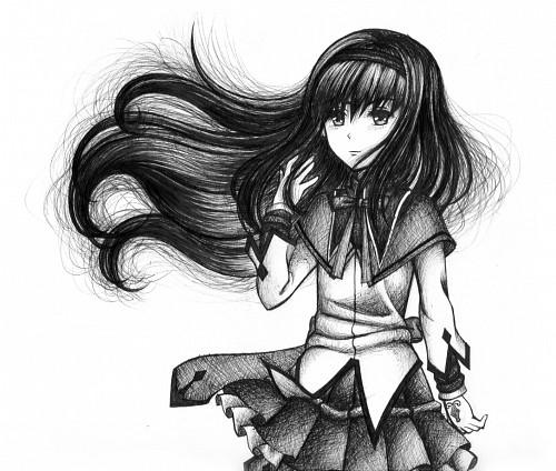 Puella Magi Madoka Magica, Homura Akemi, Member Art