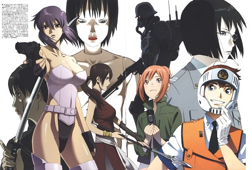 Ghost in the Shell, Jin-Roh, Blood the Last Vampire, Patlabor: The Mobile Police, Eden of the East
