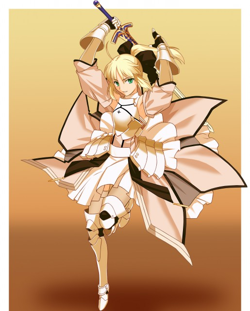 TYPE-MOON, Fate/stay night, Saber, Saber Lily, Vector Art