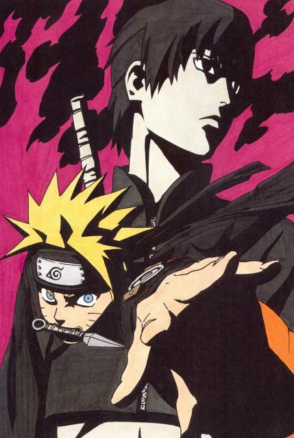 Masashi Kishimoto, Naruto, NARUTO Illustrations, Sai , Naruto Uzumaki