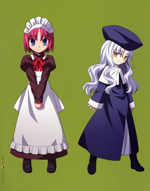 TYPE-MOON, Type-MOON Comic Illust Book, Fate/Hollow ataraxia, Shingetsutan Tsukihime, Caren Ortensia