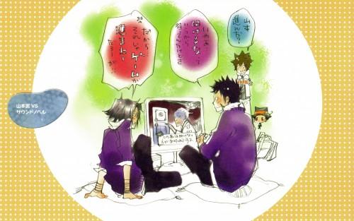 Akira Amano, Katekyo Hitman Reborn!, Colore!, Hayato Gokudera, Tsunayoshi Sawada