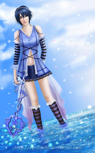 Square Enix, Kingdom Hearts, Aqua (Kingdom Hearts), Member Art