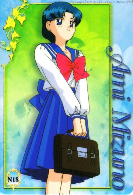 Toei Animation, Bishoujo Senshi Sailor Moon, Ami Mizuno, Trading Cards