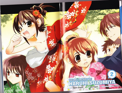 Kyoto Animation, The Melancholy of Suzumiya Haruhi, Kyon, Mikuru Asahina, Yuki Nagato