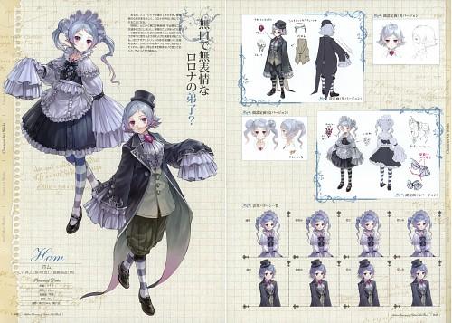 Mel Kishida, Gust, Atelier Rorona & Totori Art Book, Atelier Rorona, Hom (Atelier Rorona)