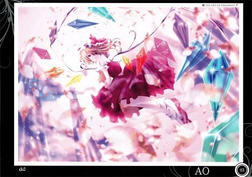 Ao (Mangaka), Touhou Project Tribute Arts - Fragment 1, Touhou, Flandre Scarlet