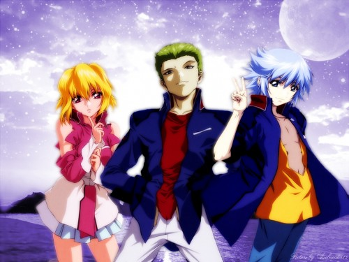 Sunrise (Studio), Mobile Suit Gundam SEED Destiny, Auel Neider, Stellar Loussier, Sting Oakley Wallpaper