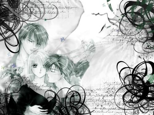 Yuu Watase, Ayashi no Ceres, Touya (Ayashi no Ceres), Aya Mikage, Yuuhi Aogiri Wallpaper