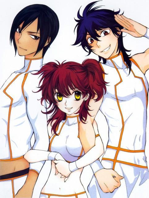 Yun Kouga, Mobile Suit Gundam 00, Gundam 00 Yun Kouga Design Works, Michael Trinity, Johann Trinity