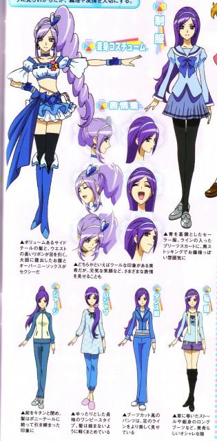 Toei Animation, Fresh Precure!, Cure Berry, Miki Aono, Megami Magazine