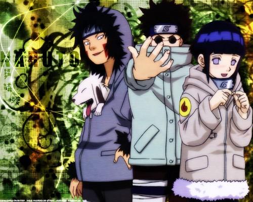 Masashi Kishimoto, Studio Pierrot, Naruto, Kiba Inuzuka, Akamaru (Naruto) Wallpaper