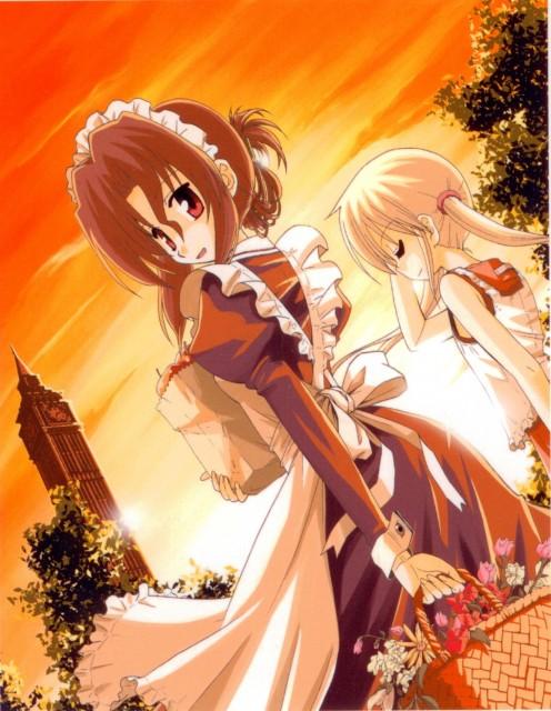 Hayate the Combat Butler, Maria (Hayate the Combat Butler), Nagi Sanzenin
