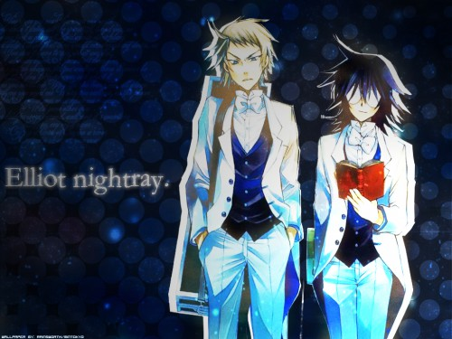 Jun Mochizuki, Xebec, Pandora Hearts, Leo Baskerville, Eliot Nightray Wallpaper