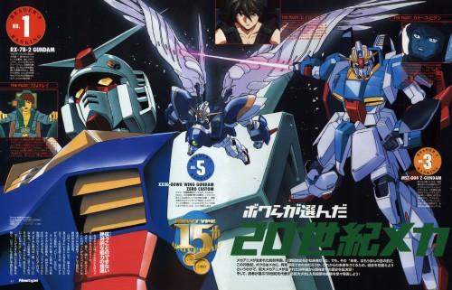 Sunrise (Studio), Mobile Suit Gundam Wing, Mobile Suit Gundam - Universal Century, Mobile Suit Zeta Gundam, Kamille Bidan
