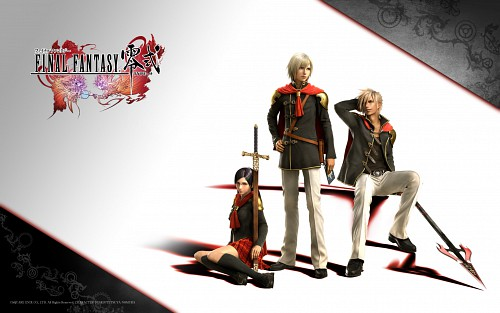 Square Enix, Final Fantasy Type-0, Queen (Final Fantasy Type-0), Ace (Final Fantasy Type-0), Nine (Final Fantasy Type-0)